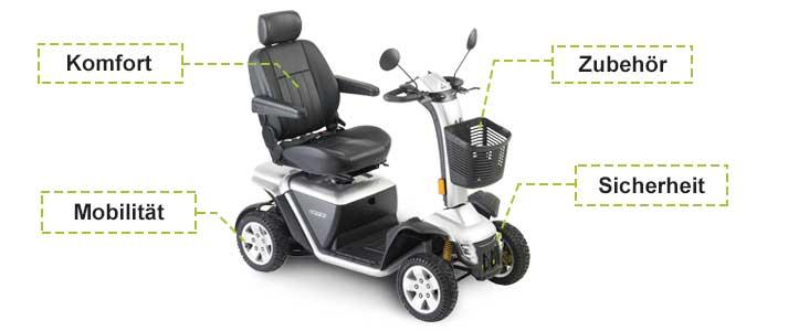 Ausstattung Elektromobil