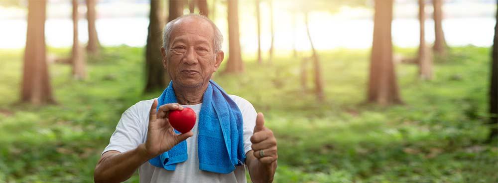 ein gesundes Herz im Alter